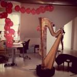 harp playing and birthday